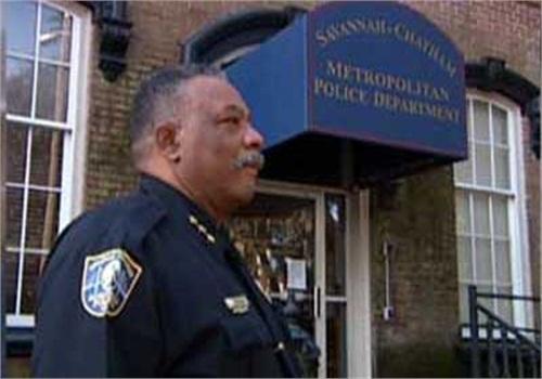 Former Savannah-Chatham (Ga.) Metropolitan Police Chief Willie Lovett when he was on the job. (Photo: WTOC TV)