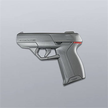 The Armatix iP1 is a .22 caliber pistol that can be fired when it is no more than 10 inches away from an RFID watch. (Photo: Armatix)