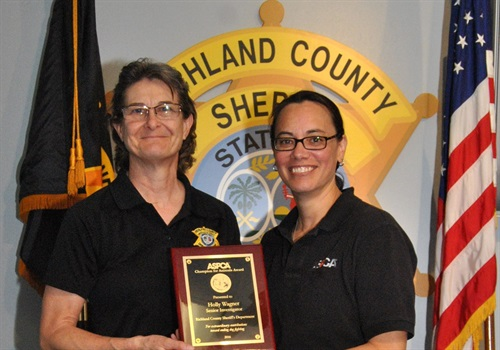 Senior investigator Holly Wagner, Richland County (SC) Sheriff's Department