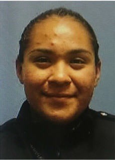 Officer Crystal Almeida of the Dallas Police Department was wounded last month in a shootout that killed her partner Officer Rogelio Santander. She left the hospital Saturday but faces a difficult recovery. (Photo: Dallas PD)