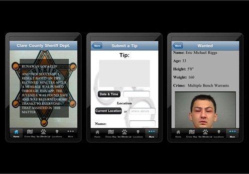 Screenshots courtesy of AppArrest.