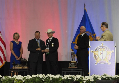 The National Sheriffs' Association (NSA) named the Marion County (SC) Sheriff's Office (MCSO) the 2018 recipient of its Crime Victim Services Award, sponsored by Appriss Safety. (Photo: Appriss)