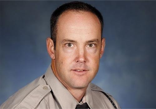 Photo of Officer Seth Meeske courtesy of Arizona DPS.