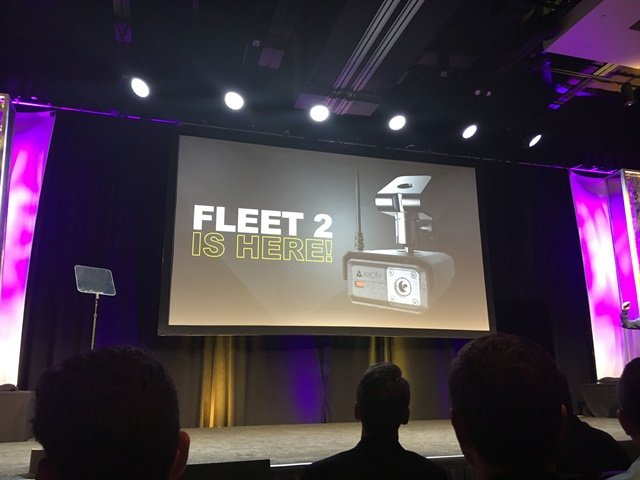 The Axon Fleet 2 system was announced. Photo: Leslie Pfeiffer