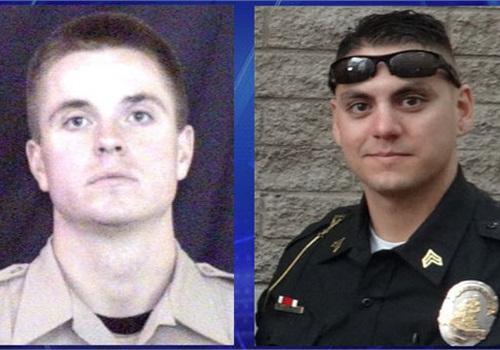 Dep. Jon Mennen and Sgt. Jason Mingura