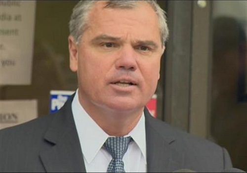 Baltimore City FOP President Gene Ryan (Photo: Screen shot from WBAL TV)