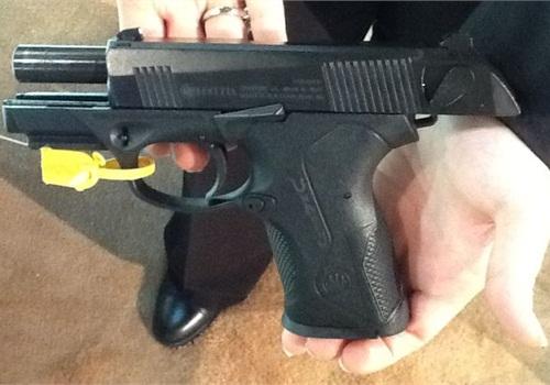 Beretta's Px4 Storm Compact pistol. Photo: Paul Clinton