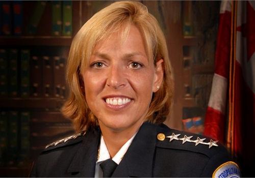 Metro (D.C.) Police Chief Cathy Lanier, CC_Flickr: Women_in_Uniform