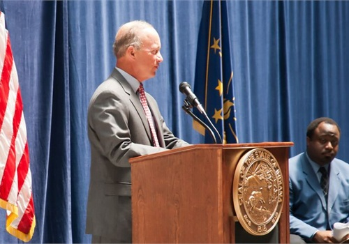 Indiana Gov. Mitch Daniels. CC_Flickr: pjern