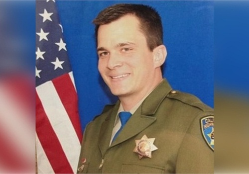 Officer Nathan Taylor of the Calilfornia Highway Patrol died after being struck by a vehicle.