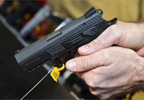 CZ-USA introduced two versions of its CZ P-07 Duty pistol. Photo: Mark Clark