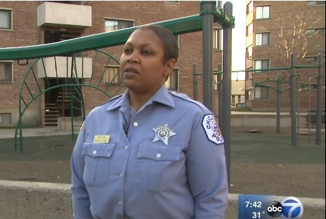 Officer Jennifer Maddox of the Chicago Police Department was named a CNN hero of the year for her work with children. (Photo: ABC Chicago screen shot)