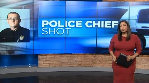 Chief Chad Henson of the Trumann (AR) Police Department responded to a call at a local residence and was shot at, authorities say. The suspect was killed. (Photo: WMC-TV screenshot)