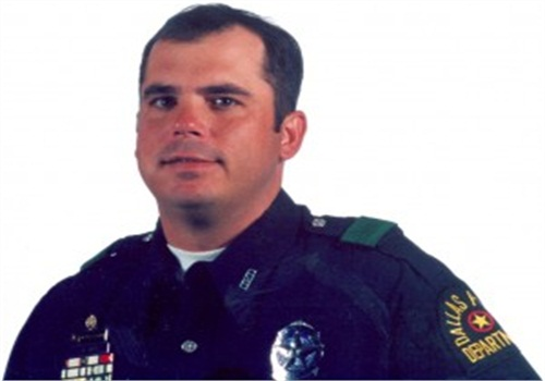 Officer Christopher Kevin James was murdered in 2001 while working an off-duty job in uniform at a local club. (Photo: Dallas PD)