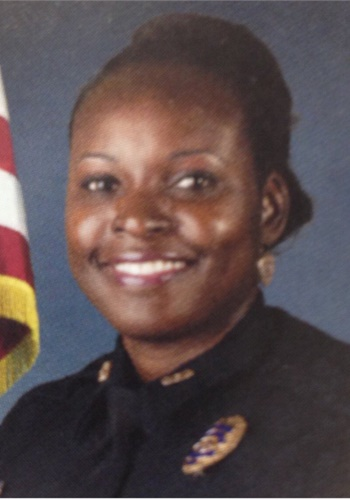 Master Sgt. Debra Clayton was shot and killed Monday morning in a confrontation with a murder suspect. (Photo: Orlando PD/Twitter)