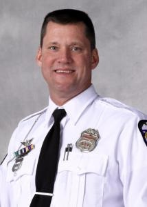 Officer Steven Smith, 54, was shot during an hours-long standoff.