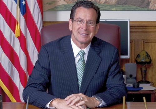 Connecticut's Gov. Dannel Malloy signed sweeping gun-control legislation Thursday. Photo courtesy of Gov. Malloy.