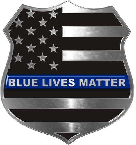 Blue Lives Matter decal (Photo: PoliceTees.com)