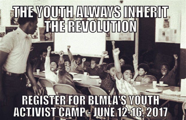 Twitter post promoting the Black Lives Matter-Los Angeles summer camp. (Photo: Twitter)