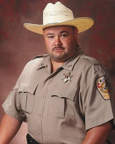 Deputy Raymond Bradley Jimmerson, 49, was a 19-year veteran of the Nacogdoches County (TX) Sheriff's Office (Photo: Nacogdoches County Sheriff's Office)