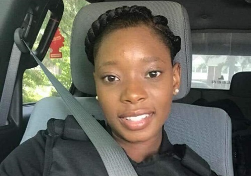 According to WPDE-TV News, 24-year-old Florence County Deputy Arie Davis has made a remarkable recovery and is doing well. Image courtesy of Florence County Sheriff's Office / Facebook.