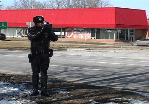 Photo courtesy of Detroit PD.