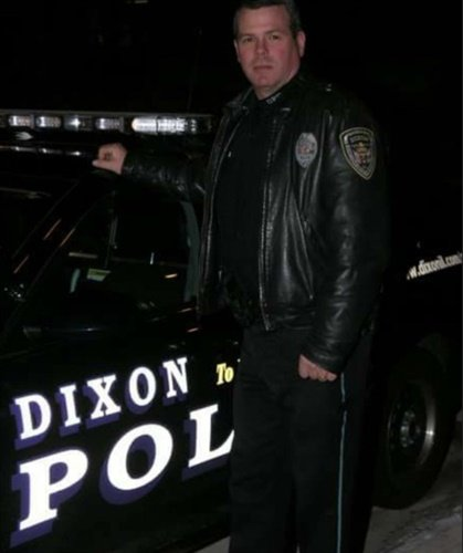 School resource officer Mark Dallas of the Dixon (IL) Police Department is being credited with saving lives today by stopping a school shooting. (Photo: Provided to WQAD)