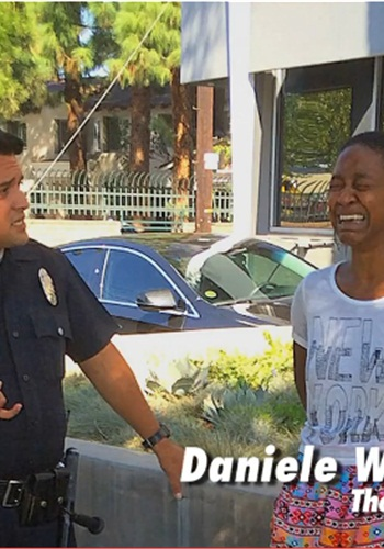 Actress Danielle Watts accused LAPD officer of racism during and after a September incident. (Photo: Screen Shot from TMZ.com)