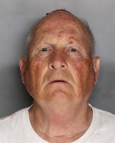 Joseph James DeAngelo, 72, was arrested in Sacramento Tuesday and booked on two counts of murder. He is a suspect in at least 12 murders and 45 rapes dating back to the early 1970s. (Photo: Sacramento County SO)
