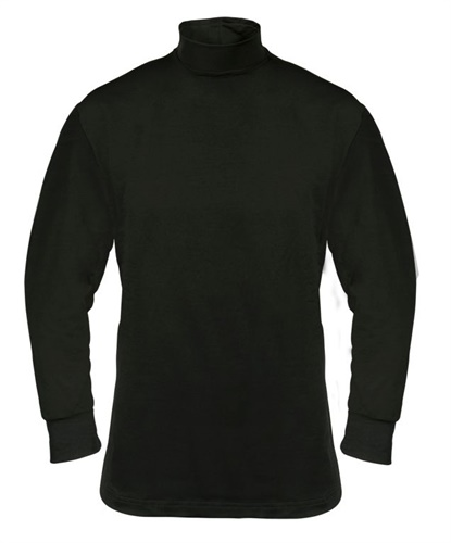 Elbeco's FlexTech Base Layer T-Neck is offered in Midnight Navy and Black. (Photo: Elbeco)