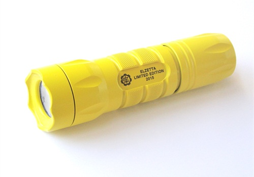 Elzetta'sLimited Edition Modular Flashlights are pricedthesameas standard Model A31s.