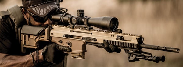 FN America LLC has announced the release of the FN SCAR 20S precision rifle. Photo: FN