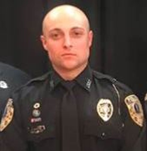 Officer Zachary Morris of the Owensboro (KY) Police Department was shot and wounded Wednesday morning while investigating a suspicious person call. He was reportedly shot by a homeowner in a case of mistaken identity. (Photo: Facebook)