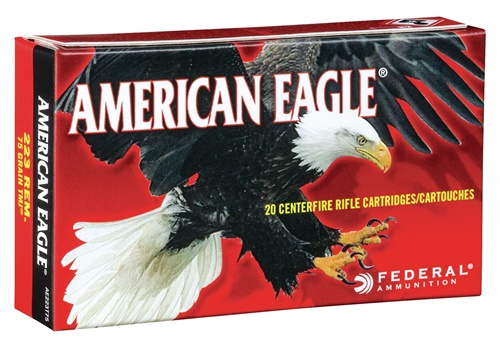 American Eagle rifle ammunition is made to offer consistent, accurate performance. (Photo: Federal Premium)