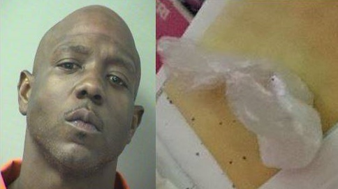 David Blackmon called police for help recovering his cocaine. (Photo: Okaloosa County Sheriff's Office)