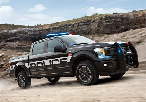 The 2018 F-150 Police Responder will be the industry's first pursuit-rated pickup for law enforcement. (Photo: Ford)