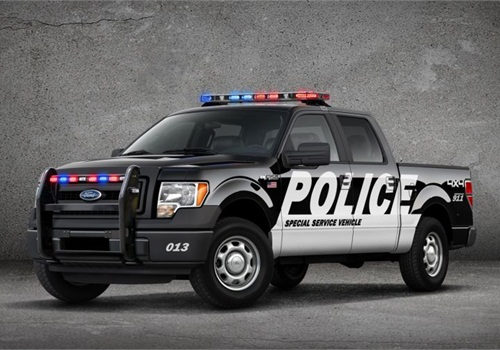 Ford announced it would begin offering a Police version of its F-150 truck. Photo: Ford