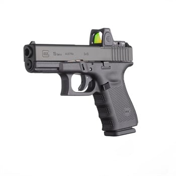 The Gen4 MOS G-19 comes with a milled slide ready for a reflex sight.