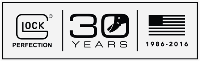 Glock is celebrating its 30th anniversary in the U.S.