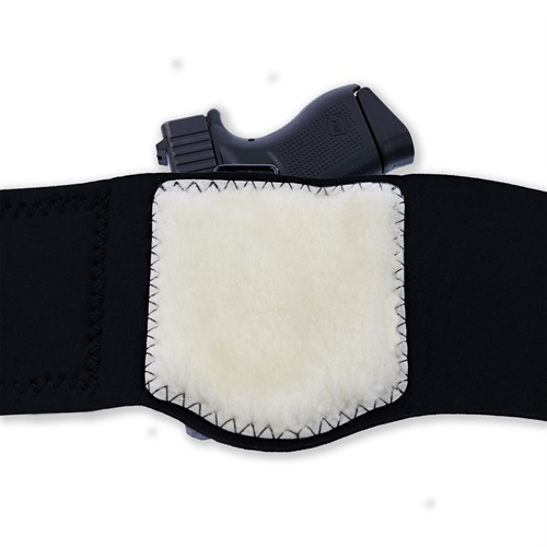 Galco's Ankle Guard holster, rear view. (Photo: Galco)