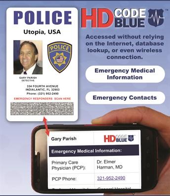 HD Code Blue (Photo: HD Barcode)