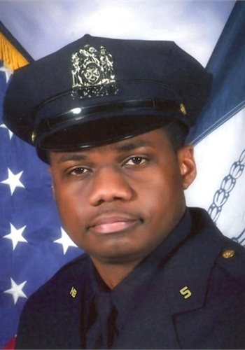 Officer Randolph Holder of the NYPD was shot and killed last week. (Photo: NYPD)