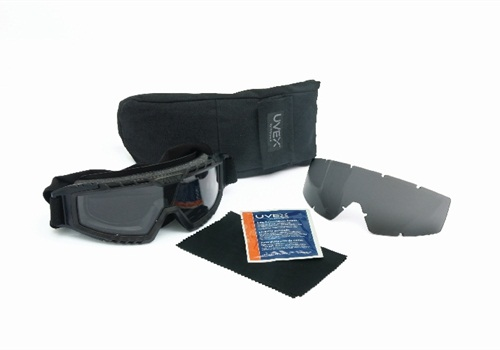 Photo of the Uvex XMF tactical goggle courtesy of Honeywell.