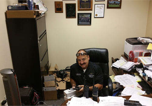 Cris Martinez chose to make IPT two-way batteries part of the Murrietta PD's communications upgrade.