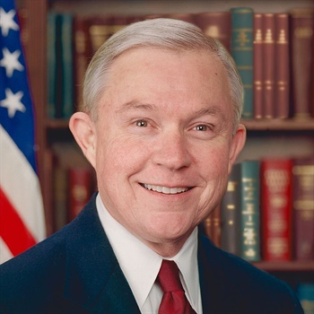 Attorney General Jeff Sessions (official portrait)