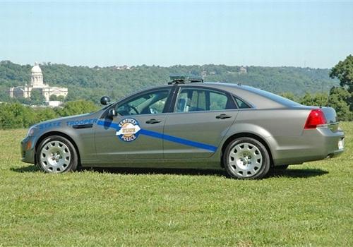 Kentucky State Police's 2012 Chevrolet Caprice PPV. Photo: KSP
