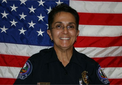 Key Biscayne (Fla.) PD's Officer Nelia Real. Photo: POLICE file