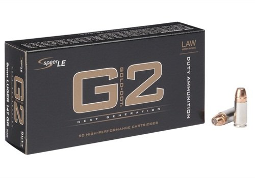 The FBI has selected 147-grain Speer Gold Dot G2 in 9mm as its next duty ammo. (Photo: Speer)