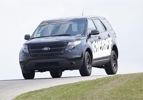 Ford's Police Interceptor Utility. Photo: Raymond Holt, MSP