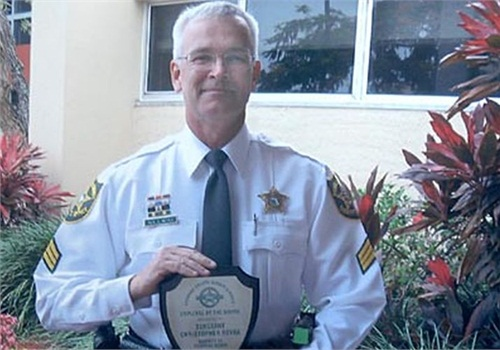 Photo of Sgt. Chris Reyka courtesy of BSO.